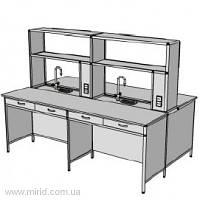 Островной стол на 4 рабочих места ОС-1.