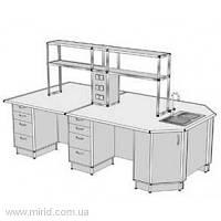 Островной стол на 4 рабочих места ОС-1.1