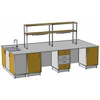 Островной стол на 4 рабочих места ОС-1.2