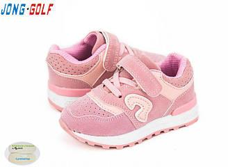 Детские кроссовки Jong Golf для мальчиков и девочек (весна-осень), р-р 21-26 (А) (8 ед в уп)