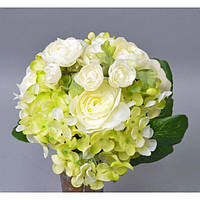 """Композиция цветочная для декора """"Букет"""" SUB023, размер 28х22 см, 2 вида, декоративный цветок, искусственное растение, букет искусственных цветов"""