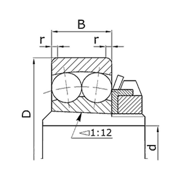 Подшипник 11206 КПИ-2.4, ЗМ-60А