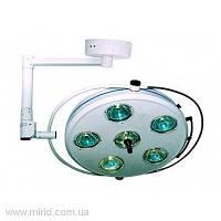 Светильник операционный бестеневой L2000 6-II шестирефлекторный потолочный