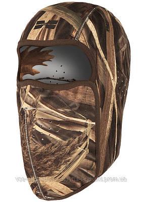 Флисовая двухсторонняя маска от холода фотокамуфляж Wings/Tundra