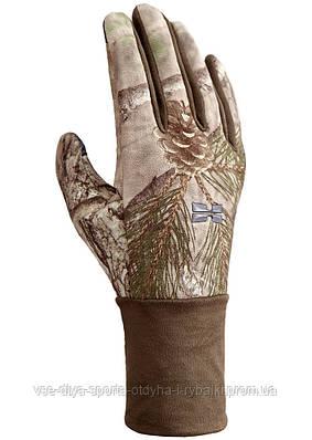 Ветронепроницаемые перчатки Hillman фотокамуфляж 3DX