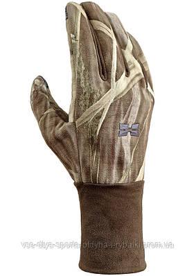 Ветронепроницаемые перчатки Hillman фотокамуфляж Wings