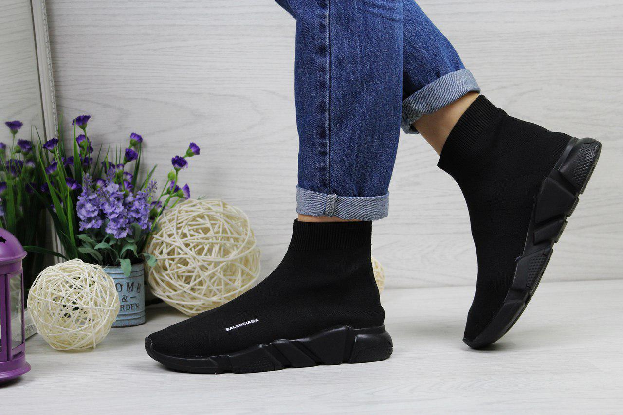 Balenciaga женские (черные), ТОП-реплика