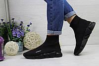 Balenciaga женские (черные), ТОП-реплика, фото 1