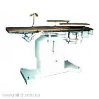 Стол для оперативных вмешательств СОЛ-1Мн  с нерж. панелью и матрацем
