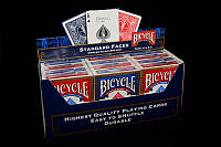 Игральные карты оптом   Блок (12 колод) Bicycle Standard (Rider Back)   Карты для фокусов оптом