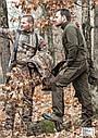 """Зимние брюки с подтяжками Hillman """"XPR"""" фотокамуфляж 3DX , фото 4"""