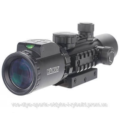 Оптический прицел KONUS KONUSPRO AS-34 2-6x28 MIL-DOT IR