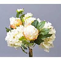 """Композиция цветочная для декора """"Цветок"""" SUB033, размер 36х20 см, декоративный цветок, искусственное растение, букет искусственных цветов"""