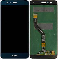 Дисплей для Huawei P10 Lite with touchscreen blue orig (Бесплатная доставка до дверей)