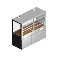 Шкаф вытяжной для работы с агрессивными средами ШВ-2-1.5