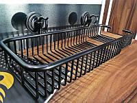 Kugu Полочка в ванную Kugu Versace 224B, черная(224B)