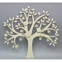 """Декор настенный """"Дерево"""" CH237, материал - металл, размер - 48,5*52 см, декор для дома, декорирование дома, аксессуары для дома"""