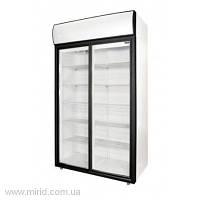 Шкаф-витрина холодильный ШХ-1,4 купе DM114Sd-S