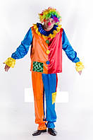 Клоун мужской карнавальный костюм