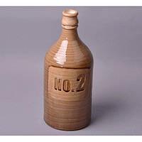 """Ваза керамическая для декора """"NO.2"""" YQ58758, размер 34х13 см, ваза декоративная, ваза для оформления интерьера, ваза из керамики"""