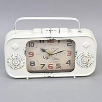 """Часы настольные для декора """"Old Fashion"""" XY3077, размер 20х26x5 см, металл, домашние часы, часы для дома"""