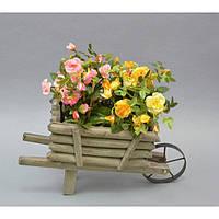 Подставки под цветы JK7172, материал - дерево, размер - 20*40*16 см, декор для дома, декорирование дома, аксессуары для дома