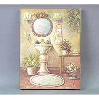 Картина в стиле прованс FF913, материал - дерево, размер - 40*30 см, настенный декор, декор для дома