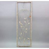 Декор настенный клетка JK3144, материал - металл. Размер - 88*29 см, декор для дома, декорирование дома, аксессуары для дома