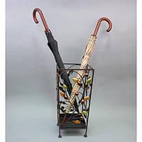 Зонтовник HX1010, материал - металл, размер - 47*23*23 см, изделия из ротанга и металла, декор для дома, декор для сада