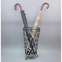 Зонтовник B2384, материал - металл, размер - 26*49 см, декор для дома, декорирование дома, аксессуары для дома