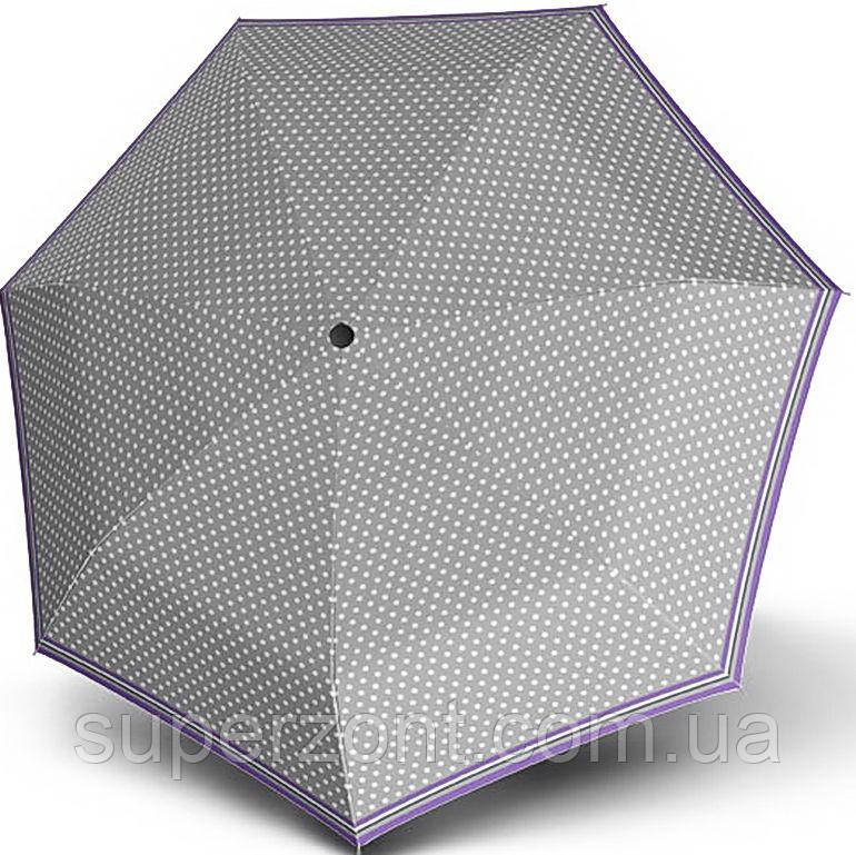 Эффектный надежный складной зонт, полный автомат DOPPLER (DERBY), антиветер 744165PS-3 серый
