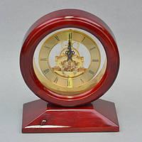 "Часы настольные для декора ""Old Fashion"" H09118, размер 22х18x10 см, дерево, домашние часы, часы для дома"
