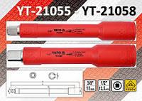 """Удлинитель с изолированным корпусом 1000V 3/8""""-1/2"""", YATO , фото 1"""