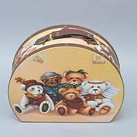 """Сундучок деревянный для хранения мелочей """"Box"""" TL289-1, размер 20х25х9 см, сундук для украшений, шкатулка для вещей"""