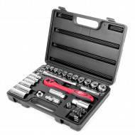 Профессиональный набор инструментов Intertool 39 единиц