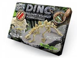 Раскопки динозавров Брахиозавр + Стегозавр   археологические раскопки для детей