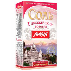 Картинки по запросу Гималайская розовая соль, Ямуна, 200 г.