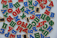 Набор магнитных букв Русский алфавит на магнитах 72 буквы Komarovtoys (J 705)