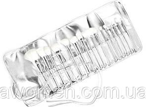 Набор кистей Kylie Cosmetics Silver Series Brush (16 штук)