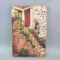 Декор настенный 3D HX6154, материал - дерево, металл, размер - 60*40 см, декор для дома, декорирование дома, аксессуары для дома