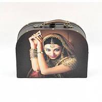 """Сундук деревянный для хранения вещей """"Indi"""" TL2711, в наборе 3 штуки, сундук для декора, сундук для предметов"""