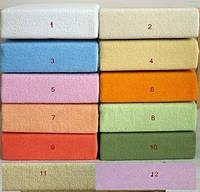 Простынь трикотажная на резинке Duetbaby ( цвета в ассортименте ) 120 х 60 см