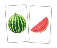 Игра Фрукт и долька Вундеркинд с пеленок | карточки домана Фрукт и долька