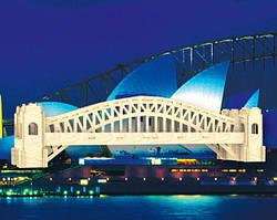 Сиднейский мост сборная деревянная модель, 3D пазлы