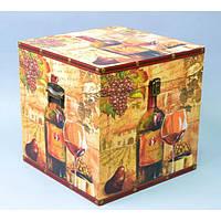"""Сундук деревянный для хранения вещей """"Wine"""" TL596, в наборе 3 штуки, сундук для декора, сундук для предметов"""