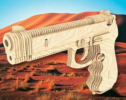 Беретта сборная деревянная модель, 3D пазлы