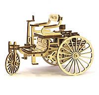 Механический конструктор Первый автомобиль 1234-9  | Механические 3Д пазлы автомобиль