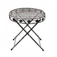 """Стол декоративный для дома """"Iron"""" HX1123, размер 67*70 см, предмет декора, декоративные украшения интерьера"""