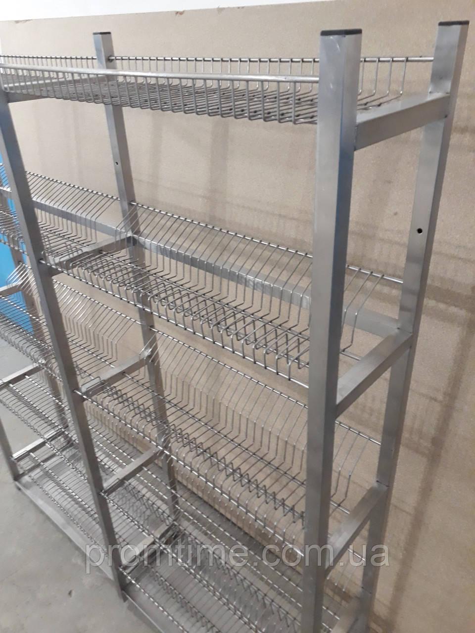 Стеллаж для сушки посуды 1600х320х2000