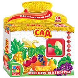 Сад Мягкие магниты Мой маленький мир Vladi Toys